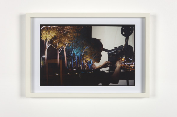 Luke Fowler, Accidental double exposure II (Peter Todd + Keith Rowe), 2009, Giclee print, 32.6 x 47.7 x 3.2 cm, Edition of 3 + 1 AP