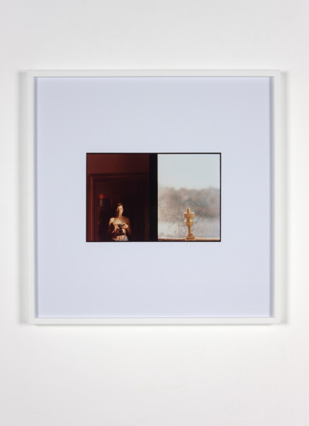 Luke Fowler, Self Portrait with Window, 2011, C-Type Print, 67.3 x 67.3 x 3.3 cm, Edition of 6 + 2 AP