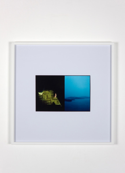 Luke Fowler, Cross Laminate (Galliano Island), 2009, C-Type Print, 67.3 x 67.3 x 3.3 cm, Edition of 6 + 2 AP