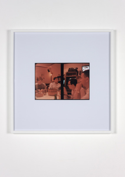 Luke Fowler, Reception (Thomas, Stefan, Ed, Nathan), 2009, C-Type Print, 67.3 x 67.3 x 3.3 cm, Edition of 6 + 2 AP