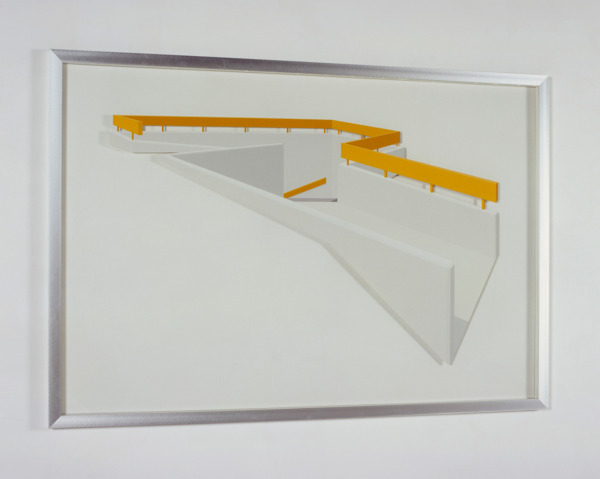 Toby Paterson, Interchange Underpass, 2007, Acrylic on perspex, 165.2 x 114.2 x 3.3 cm