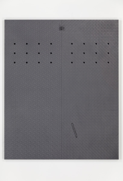 Ted Kaczynski, 2014, Graphite on aluminum panel, 137.32 x 111.92 cm