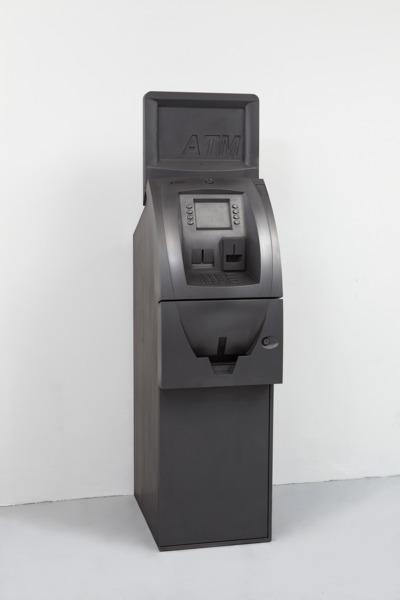 Triton ATM, 2011, Graphite, 155 x 39.5 x 63.5 cm