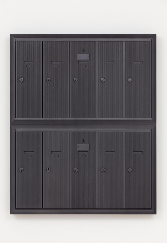 16 E 73rd St., 2014, Graphite, 92.7 x 75.6 x 5.7 cm