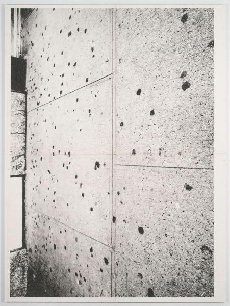 Untitled, 2014, Inkjet print on cellulose sponge, 200 x 150 x 3.5 cm