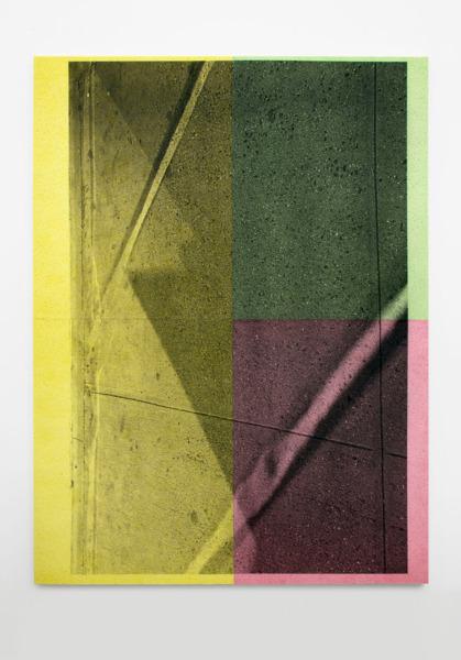 Untitled, 2014, Inkjet print on cellulose sponge, 198x 148 x 3.5 cm