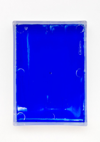 Digital Light Pool LXXIII, 2014, Acrylic paint on plastic, 30.5 x 22 x 6 cm, 12 x 8.7 x 2.4 in
