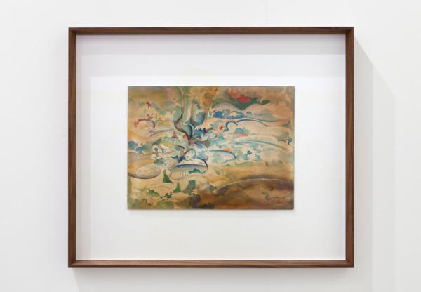 No Title (3.6.2014), 2014, Gouache on paper, 52.5 x 44.5 x 4.5 cm