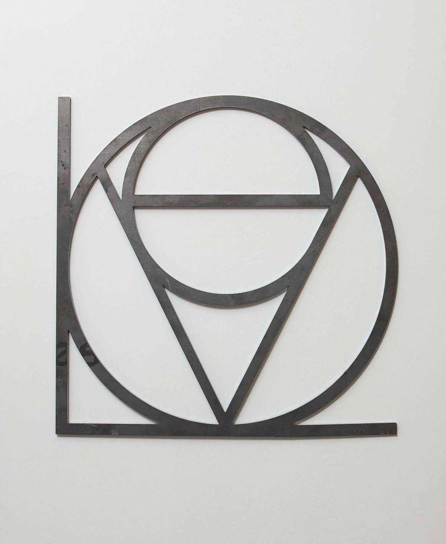 EVOLOVE, 2007, Steel, 40 x 40 cm