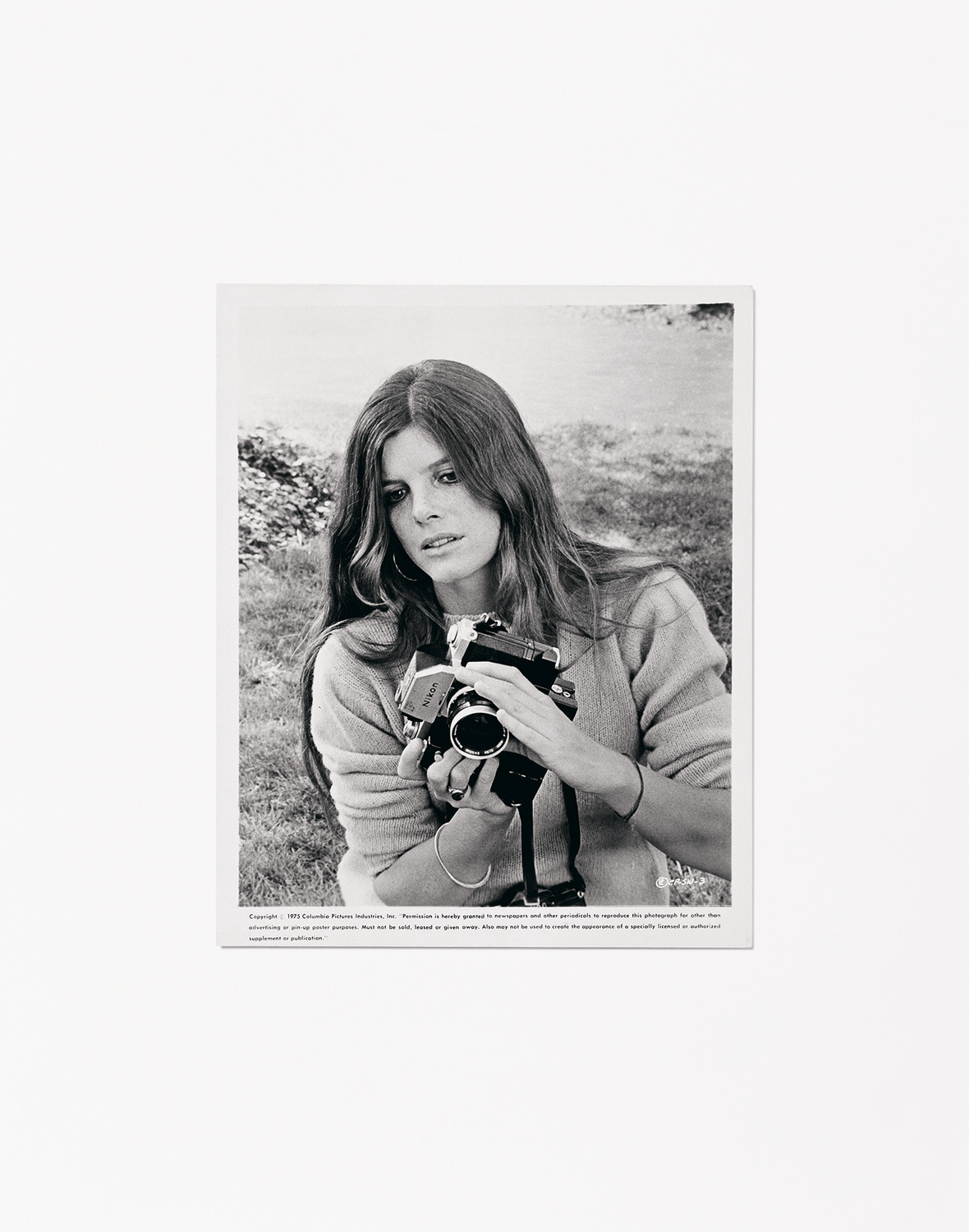 Woman With A Camera (The Stepford Wives), 2013, C-Print, 157.5 x 126.2 cm