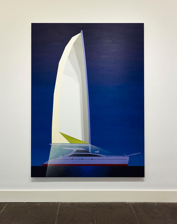 Sleepwalker (Dark), 2014, Acrylic on linen, 200 x 150 cm