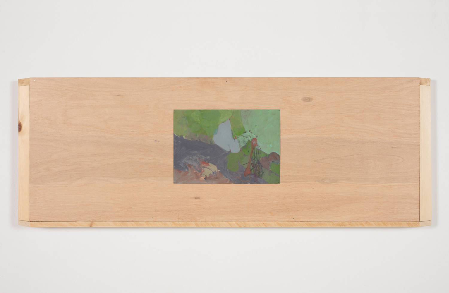 Rapid Change, 2015, Acrylic on paper, wood, 117 x 5 x 42.5 cm