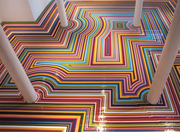 Selected Floors Jim Lambie The Modern Institute