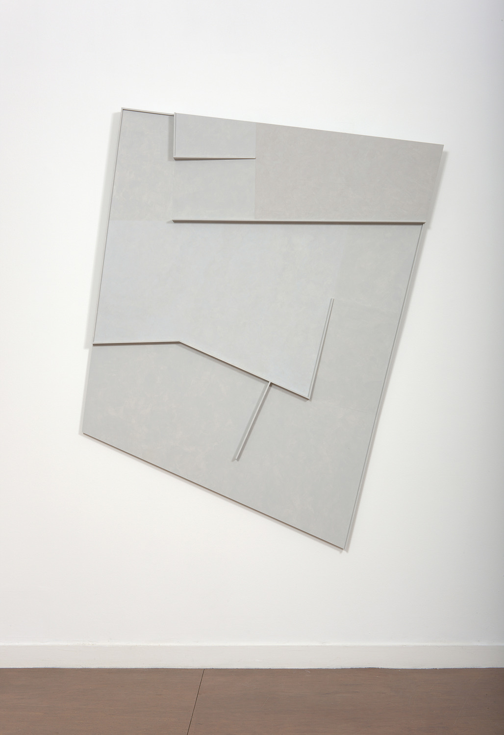Lacuna Relief, 2009, Acrylic on board, 175 x 125 x 10 cm