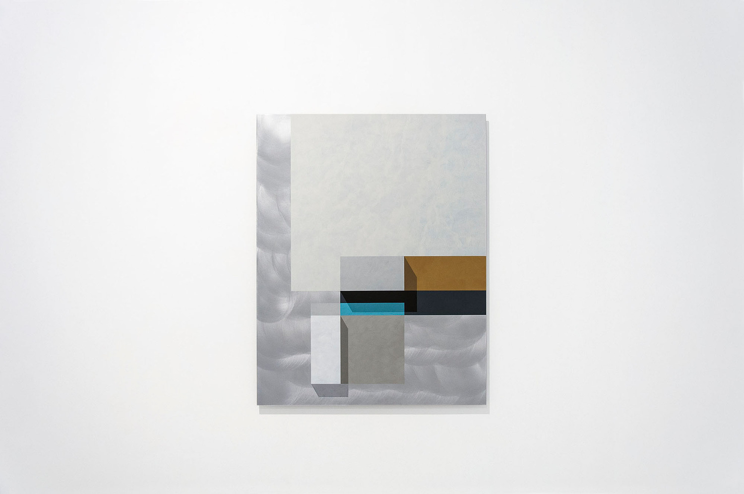 Tempo House, 2013, Acrylic on aluminium, 95 x 75 x 2.5 cm