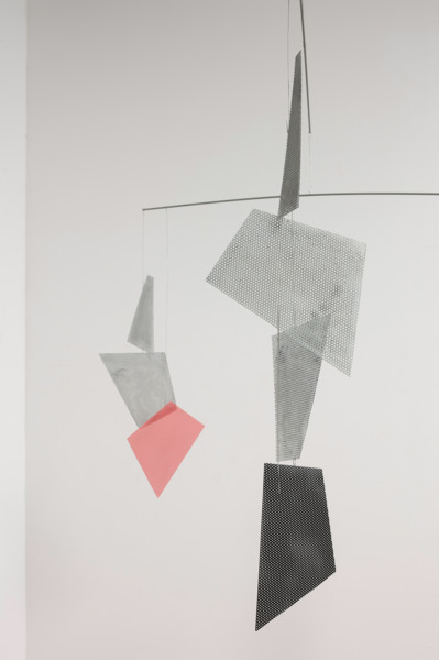 Untitled, 2014, Steel, painted steel, 150 x 160 x 150 cm