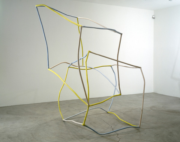 2 As 3 And Some Too, 1997 - 1998, Paper, steel, watercolor, 152.5 x 152.5 cm each