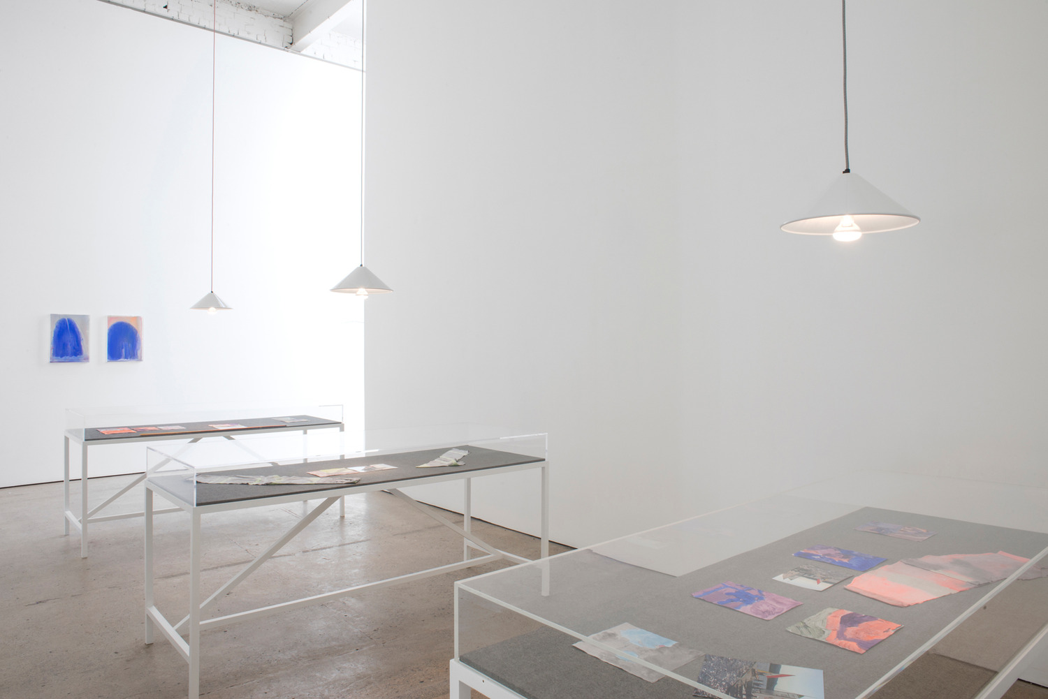 Installation view 'Electric Magnetic Installation', The Modern Institute, Aird's Lane, Glasgow, 2015
