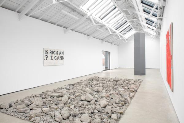 Installation view 'SORRY HAD TO DONE', The Modern Institute, Osborne Street, Glasgow, 2015