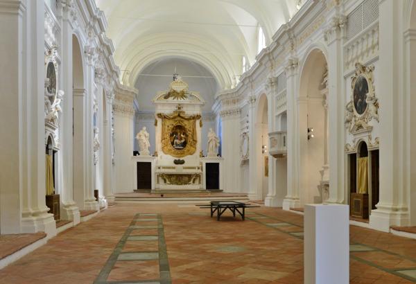 Installation view, Museo Civico Diocesano di Santa Maria dei Servi, Città della Pieve, 2015