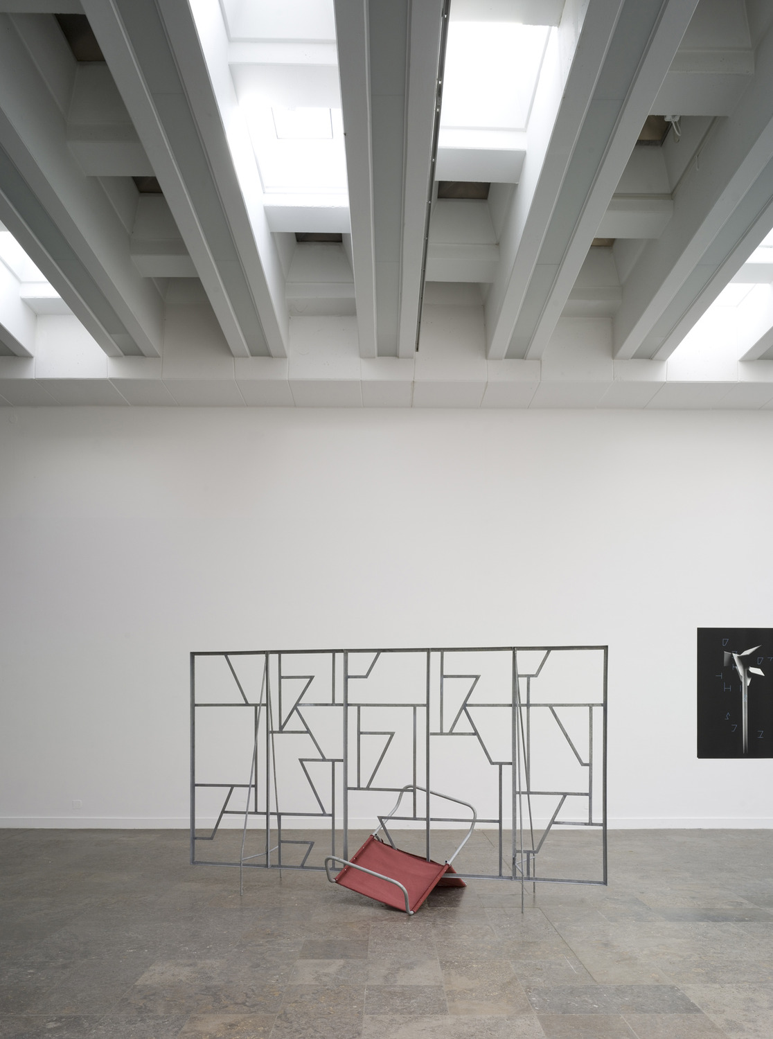 Installation view, 'This Place is Close and Unfolded', Westfälischer Kunstverein, Münster, 2008