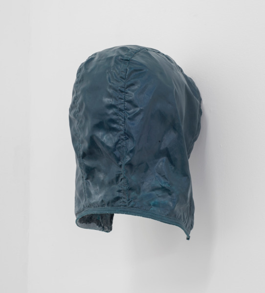 Richard Hughes, Hoods Up, 2014, Cast glass reinforced polyester, 26 x 19 x 20 cm