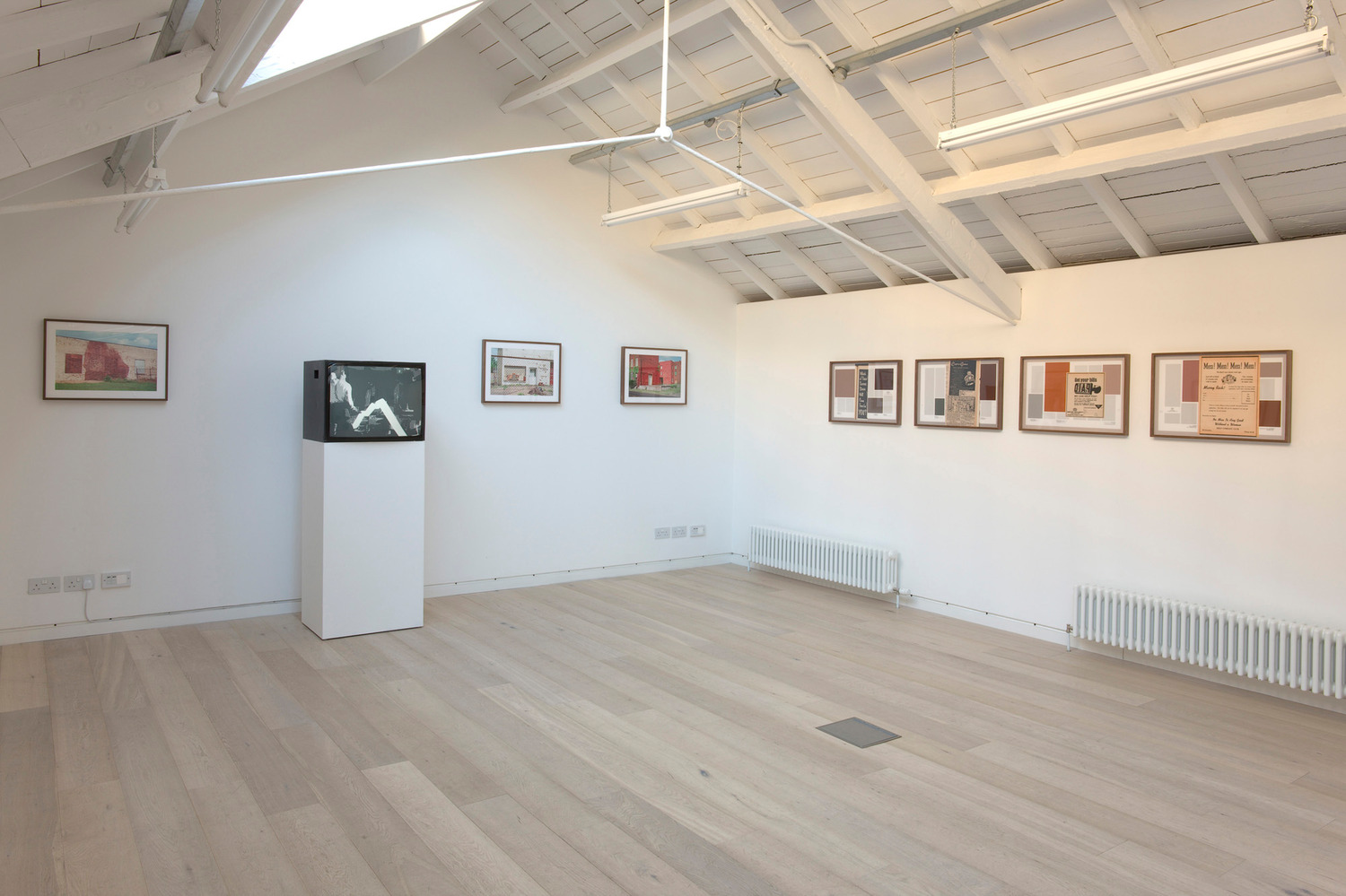 Installation view, Upstairs at The Modern Institute Osborne Street, Glasgow, 2011