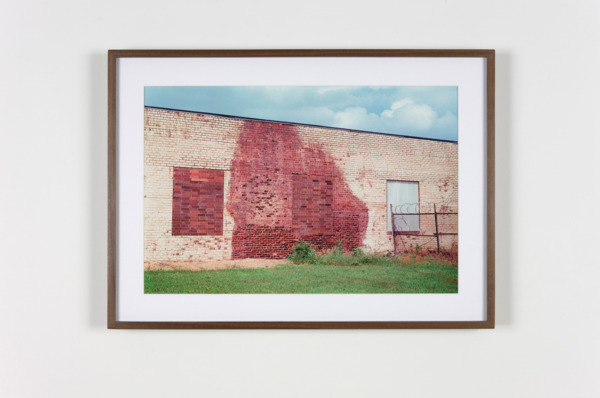 Repaired Wall, Canton, Ohio, 2011, Hand coated pigment print, 34.29 x 50.8 cm