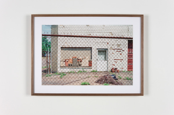 Building Materials, Canton, Ohio, 2011, Hand coated pigment print, 34.29 x 50.8 cm