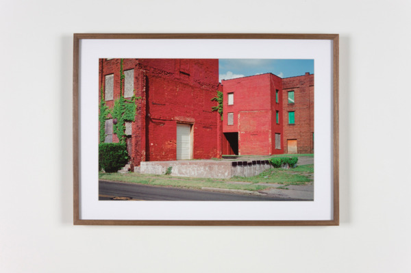 Derelict Factory, Canton, Ohio, 2011, Hand coated pigment print, 34.29 x 50.8 cm