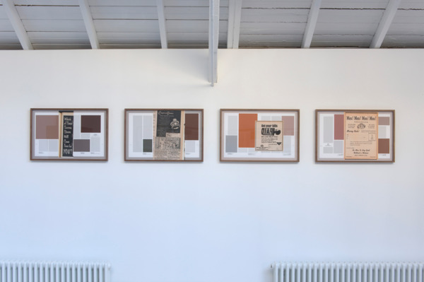 Averages (Men's Magazines), 2011, 4 hand coated pigment prints, 43.18 x 66 cm each print