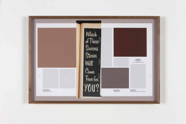 Averages (Men's Magazines), 2011 (Detail), 4 hand coated pigment prints, 43.18 x 66 cm each print