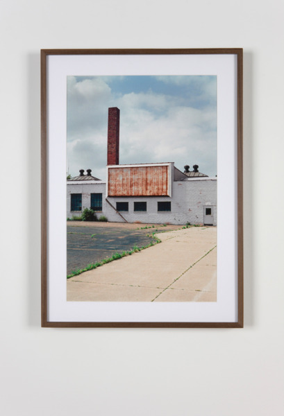 Former Car Dealership, Canton, Ohio, 2011, Hand coated pigment print, 50.8 x 34.29 cm
