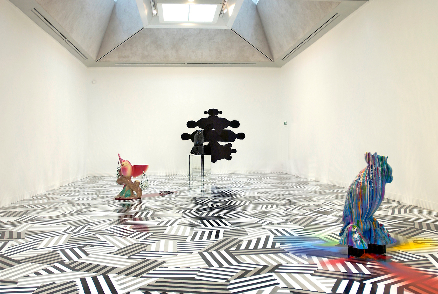 Installation view 'Turner Prize 2005', Tate Britain, 2005