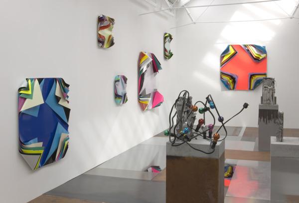 Installation view, 'Metal Urbain', The Modern Institute, Osborne Street, Glasgow, 2010