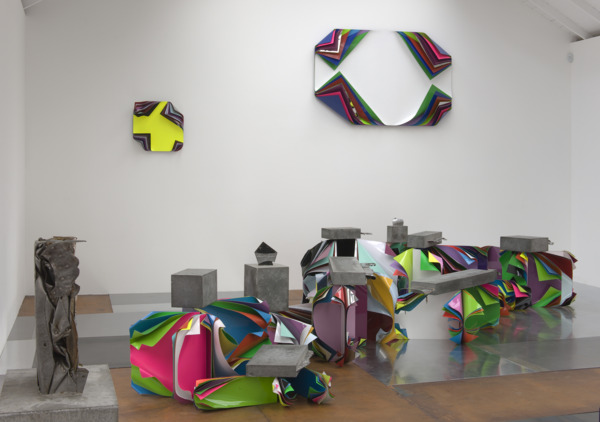 Installation view, 'Metal Urbain', The Modern Institute, Osborne Street, Glasgow, 2010