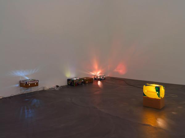 Installation view 'NO; NO; H', Kunsthalle, Zurich, 2013