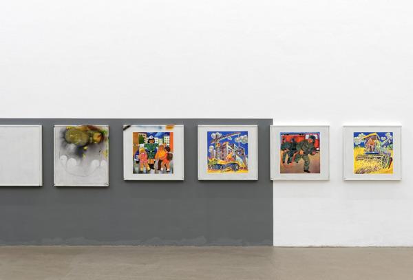 Installation view 'Fiat (Lux)', Institute d'Art contemporain, Villeurbanne, France, 2013