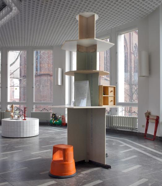 Installation view, '1. Allgemeine Verkstatt Ausstellung', Schinkel Pavillon, Berlin, 2008