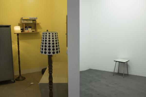 Tutti IV, 2013, Wood panel, steel, various objects, photography, Dimensions variable