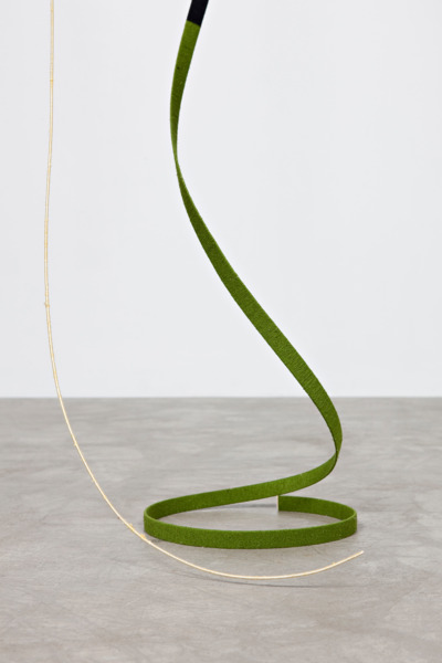 The Pashtun, 2010, Rafia, paint, flat cane, round cane, thread, silk yarn, silk and wool yarn, Dimensions variable