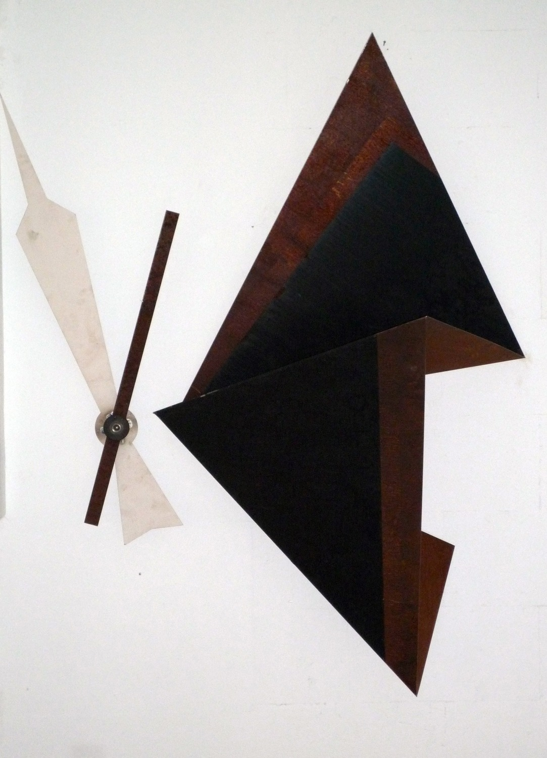 A Drop In Time (45 minutes later), 2009, Various metals, powder coating, paint, 166 x 136 x 41 cm