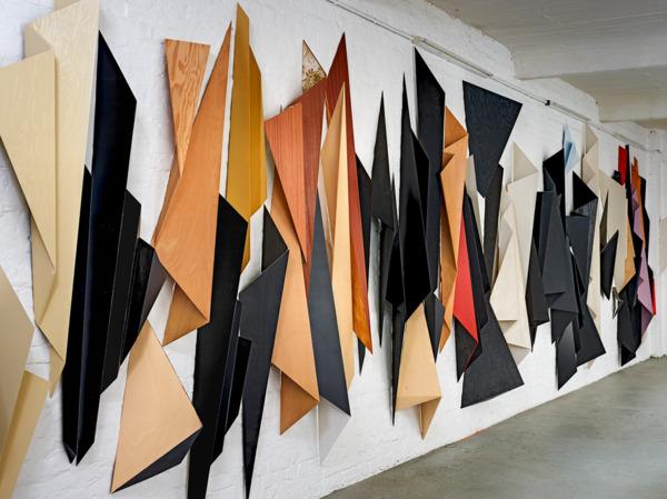 Zeittraum # 10, 2003-2012, Wood, metal, paint, Dimensions variable