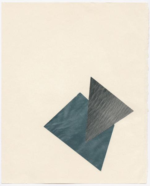 Untitled, 2012, Collage, 33 x 26.5 cm