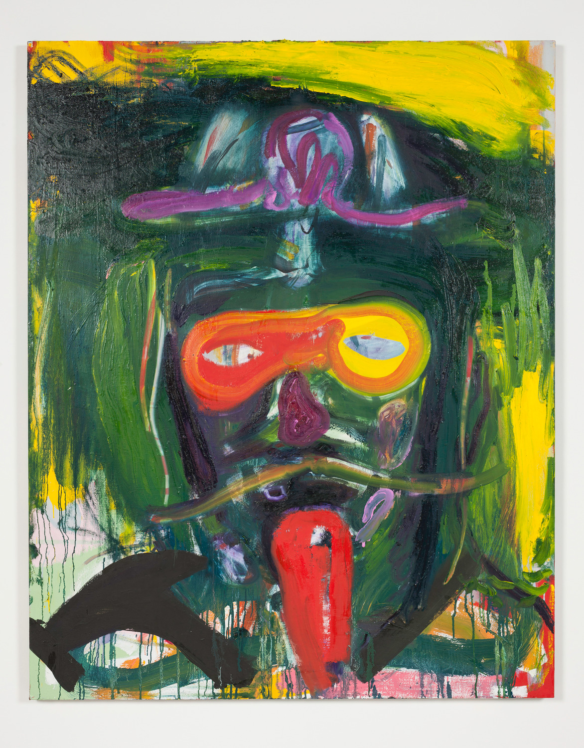 Self P. Carnival, 2014, Oil on linen, 152.4 x 121.9 x 3.5 cm