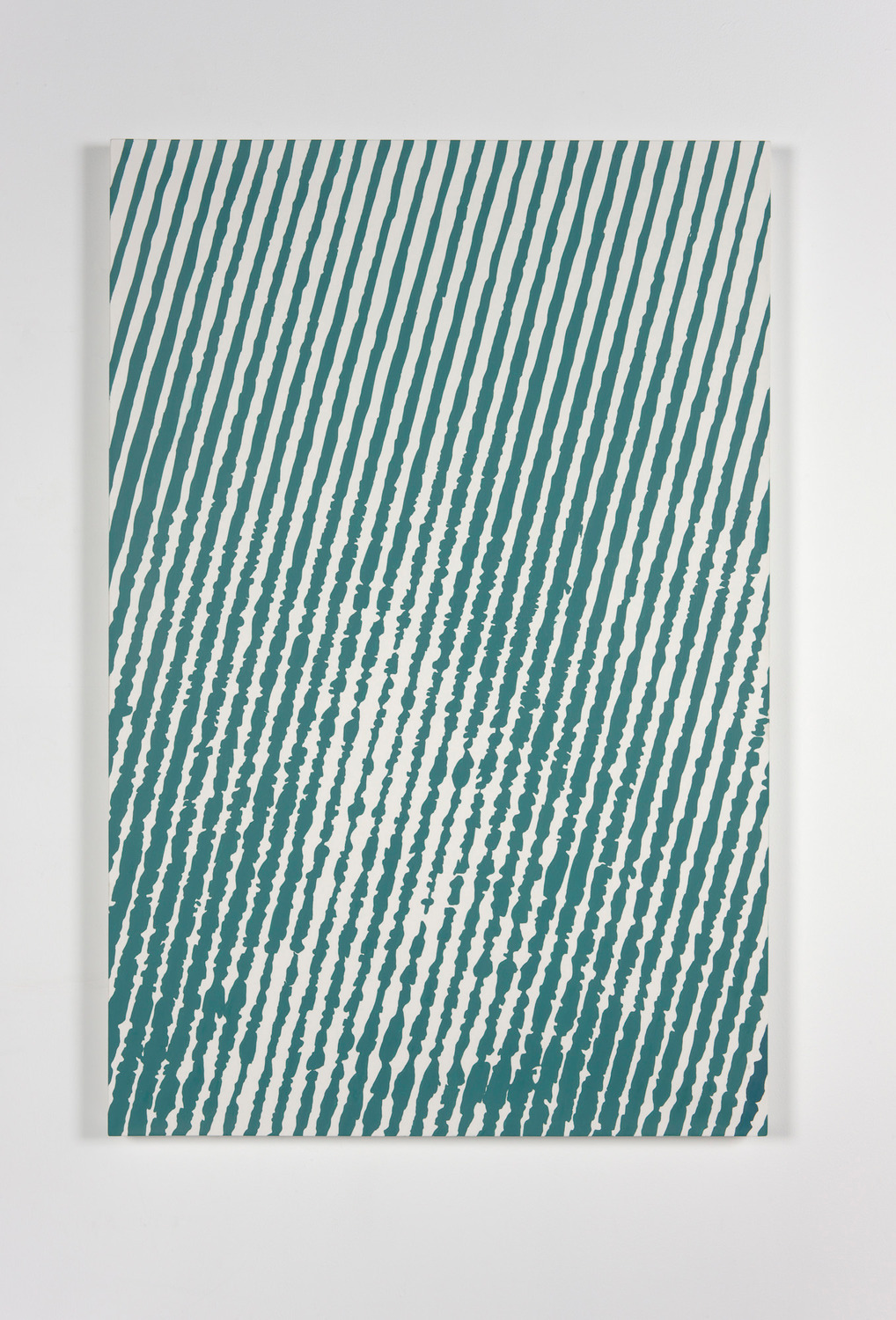 Vague Wake, 2008, Oil on canvas, 80 x 120 cm