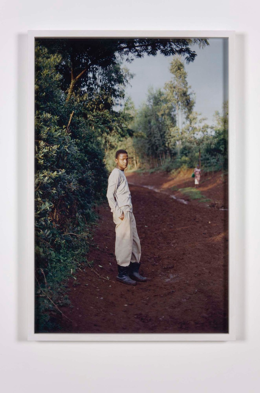 Untitled (EA), 2012, Cibachrome on Dibond, 102 x 69 x 4.5 cm