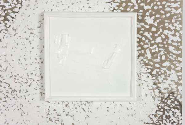 Pádraig Timoney, Impact Crater, 2012, Oil and ink on canvas, plastic cast, 259 x 211 cm