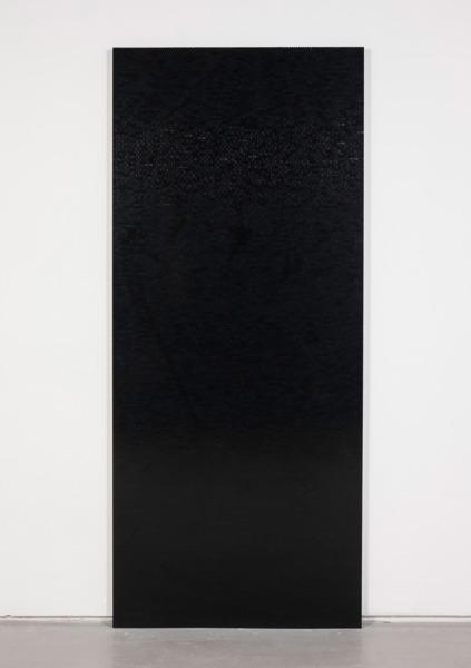 Black Wall 16, 2014, Lego, aluminium frame, 212 x 91 x 3 cm