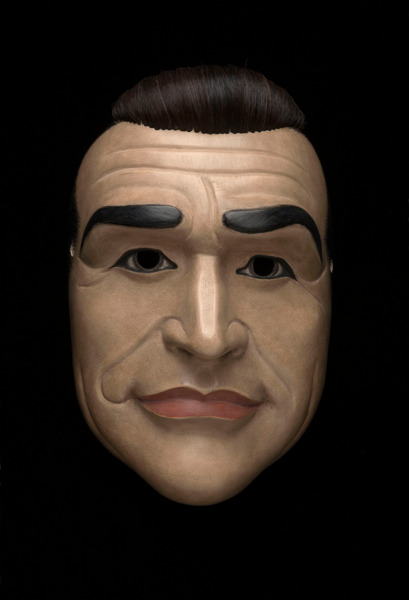 Project for a Masquerade (Hiroshima), 2010 (detail), A Gold Merchant/James Bond